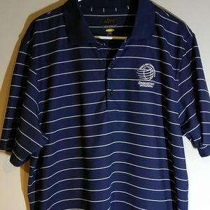 Greg Norman Polo Shirt World Golf Championships
